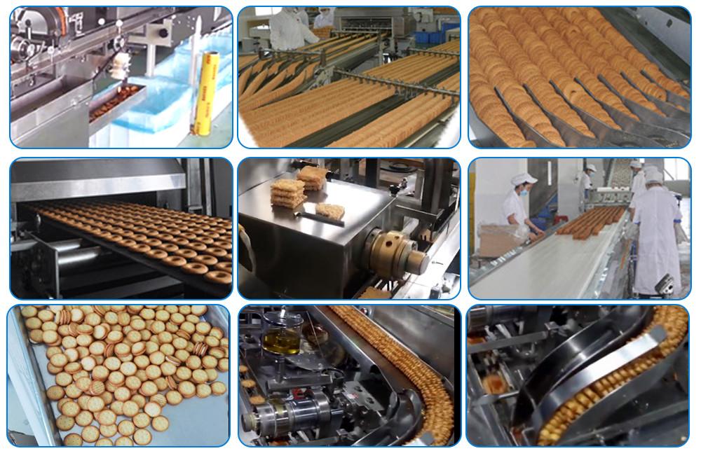 BISCUIT SANDWICHING MACHINE FACTORY