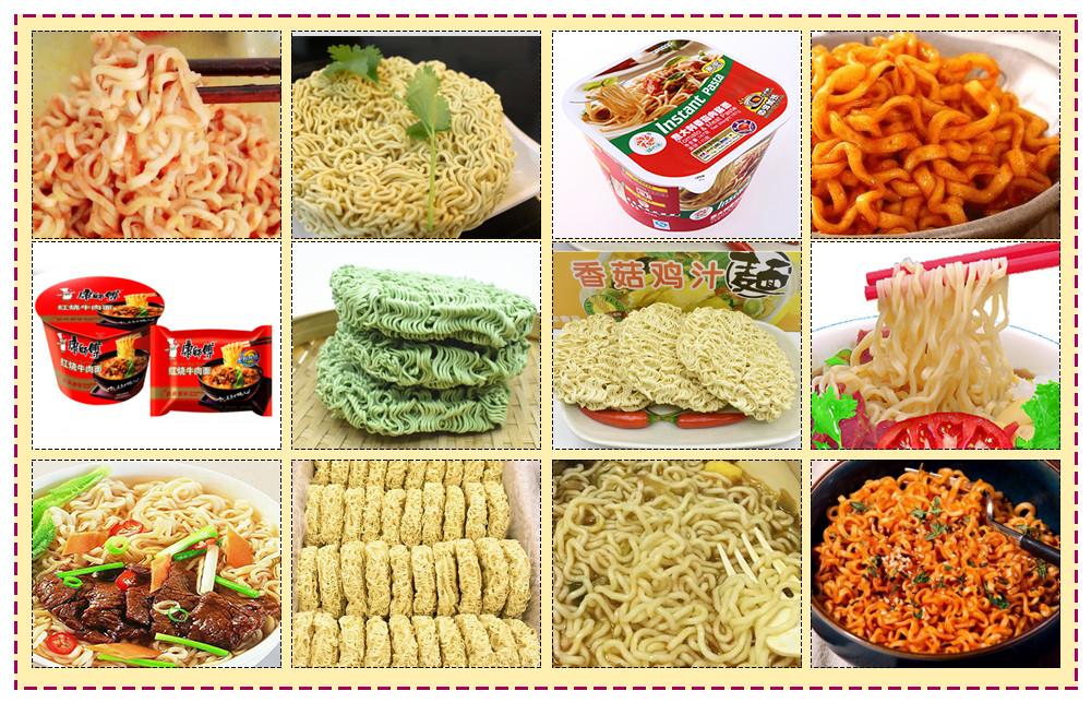 Instant noodles machine plant processing